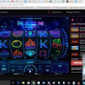 Trying NeonReels for the first time, doubled my bitcoin! PlayBitStarz.com